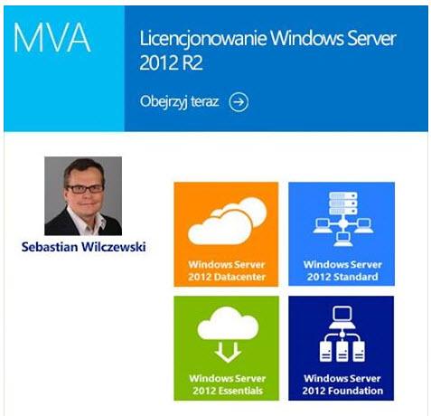 Licencjonowanie Windows Server 2012 R2 – kurs na Microsoft Virtual Academy